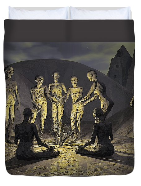 Tribe Duvet Cover