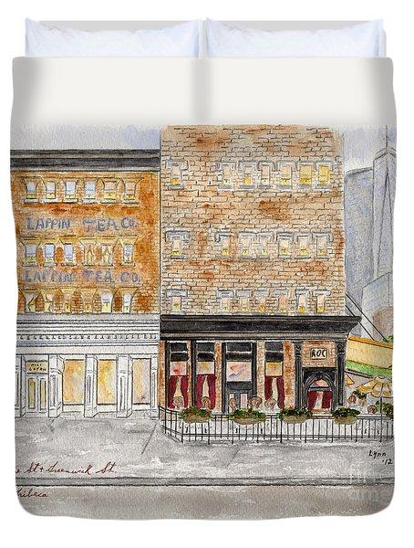 Tribeca Duvet Cover by AFineLyne