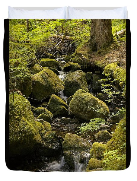 Tributary Duvet Cover by Sean Griffin