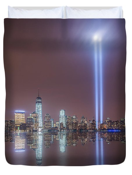 Tribute In Light Duvet Cover