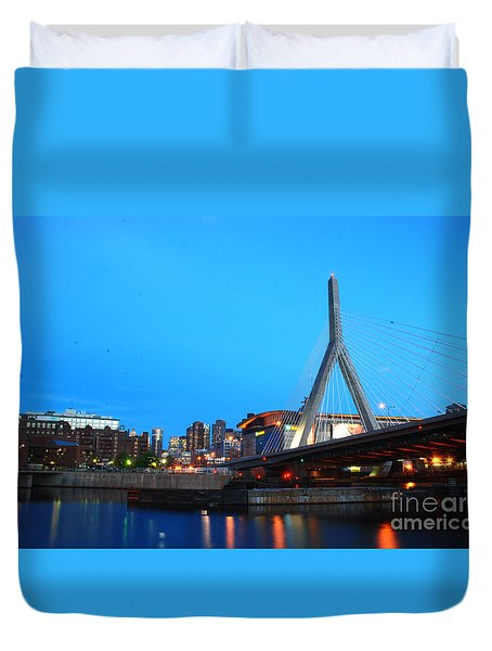 Tribute To Mr Zakim Duvet Cover