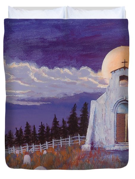 Trick Or Treat Duvet Cover by Jerry McElroy
