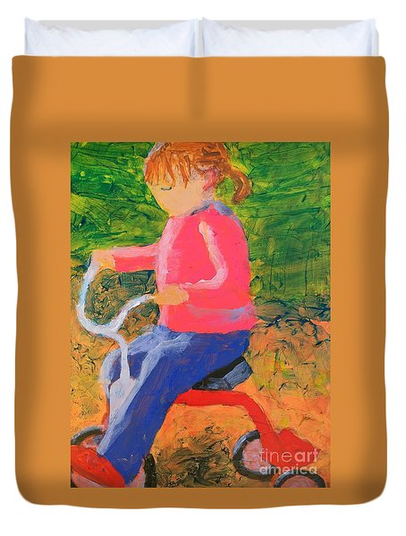 Tricycle Duvet Cover