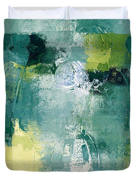 Triflorus - J052046109c17gb Duvet Cover