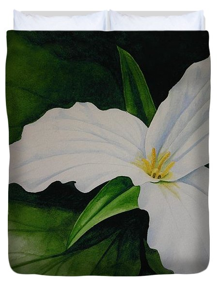 Trillium Duvet Cover