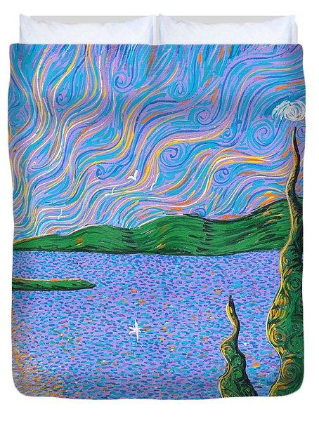 Trinity Lake Series Duvet Cover by Stefan Duncan