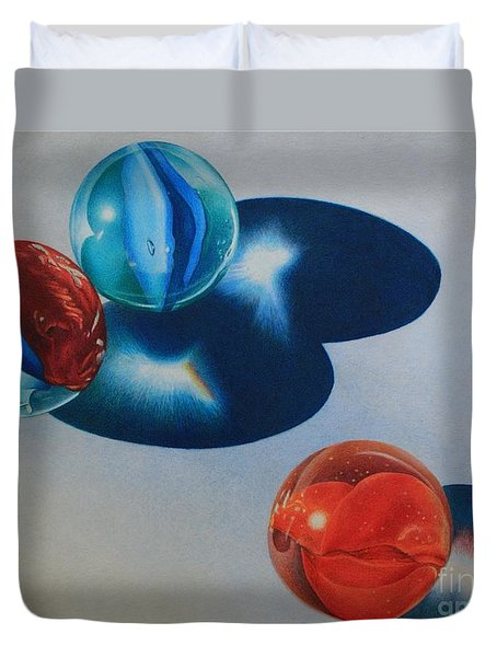 Trio Duvet Cover