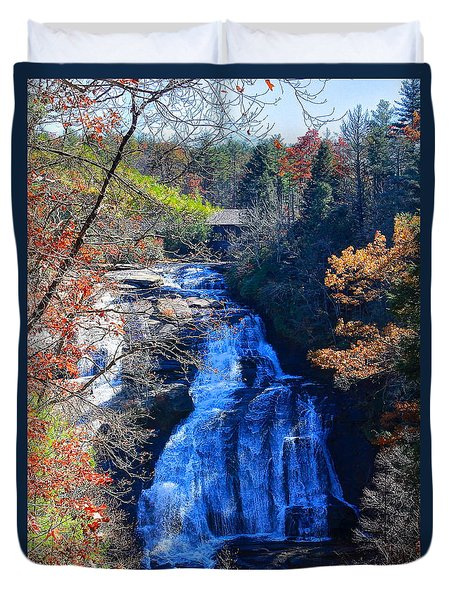 Triple Falls Duvet Cover