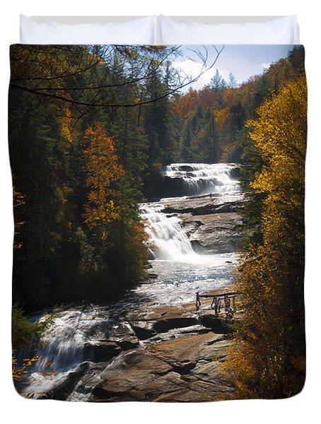 Triple Falls Duvet Cover