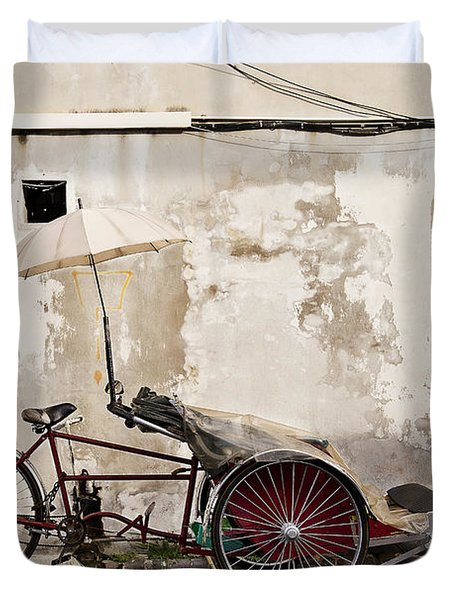 Trishaw Duvet Cover by Ivy Ho
