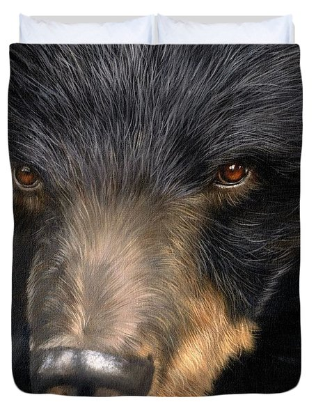 Trixie Moon Bear - In Support Of Animals Asia Duvet Cover