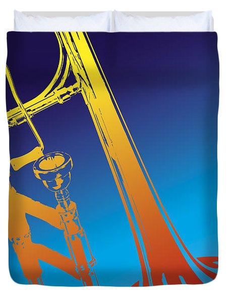 Trombone Duvet Cover
