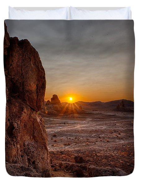 Trona Sunset Duvet Cover