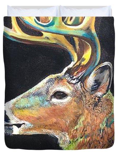Trophy Buck Duvet Cover