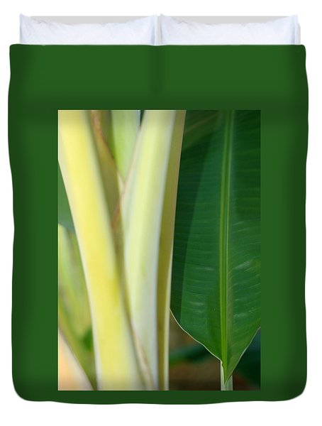Tropical Banana Tree Duvet Cover