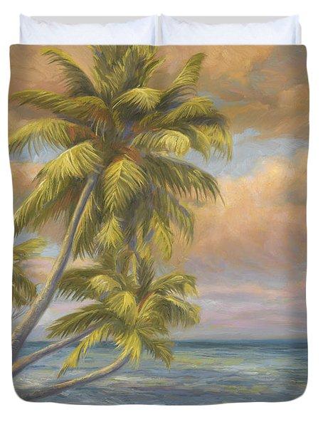 Tropical Beach Duvet Cover