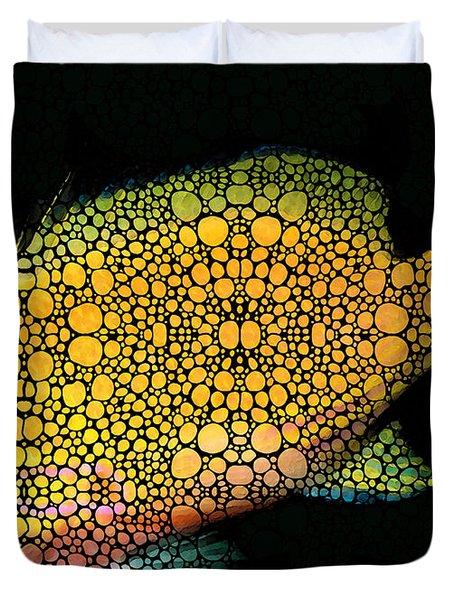 Tropical Fish Art 14 By Sharon Cummings Duvet Cover