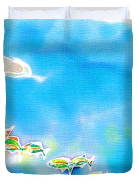 Tropical Fishes Duvet Cover