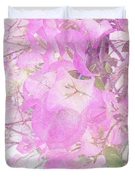 Tropical Pink Duvet Cover