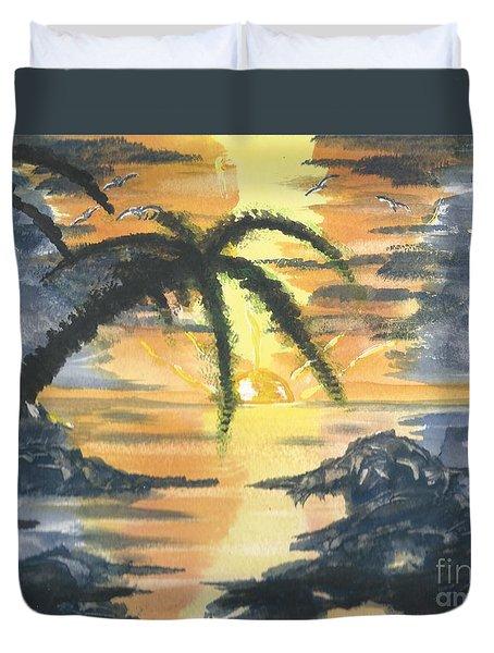 Tropical Sun Duvet Cover