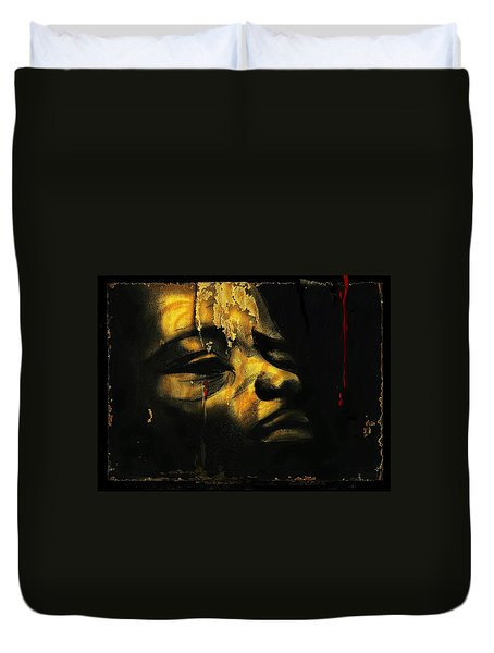 Troubled  Africa Duvet Cover