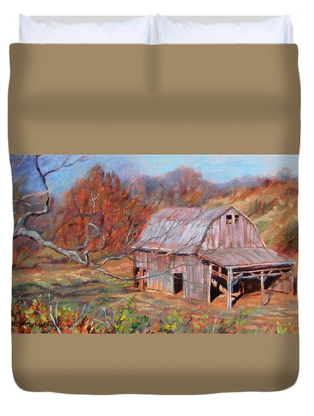 Troutville Barn Duvet Cover