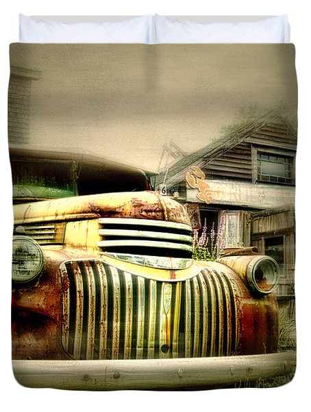 Truckyard Duvet Cover