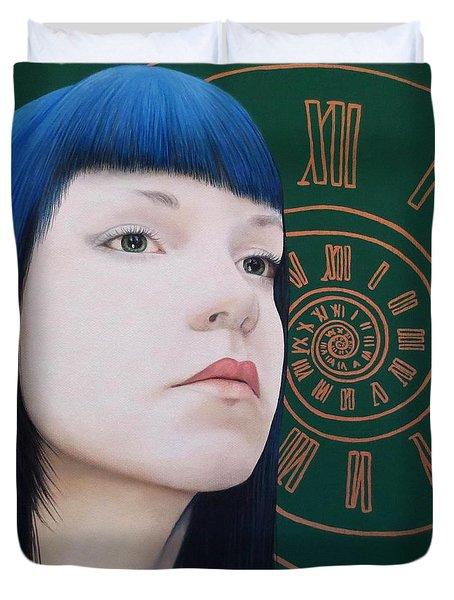 True Beauty - Dana Mccool Duvet Cover by Malinda Prudhomme