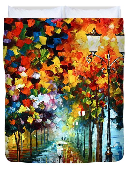 True Colors Duvet Cover by Leonid Afremov