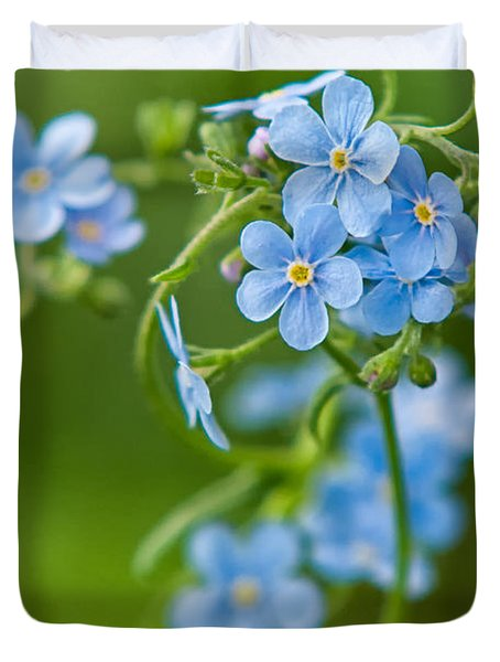 True Forget-me-not Duvet Cover