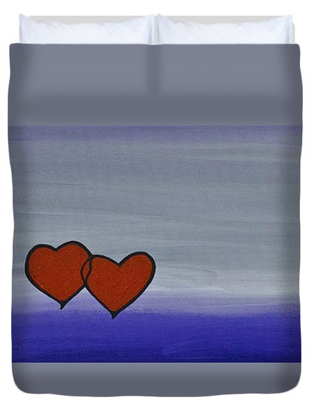True Love Duvet Cover by Sharon Cummings