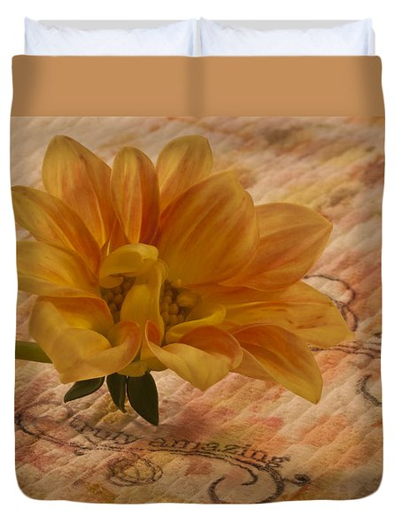 Truly Amazing  Duvet Cover by Sandra Foster