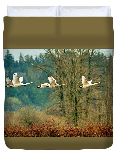 Trumpeters Five Duvet Cover