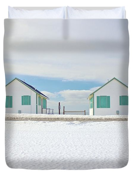 Truro Cottages Duvet Cover