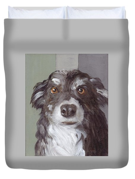 Trusting Eyes Duvet Cover