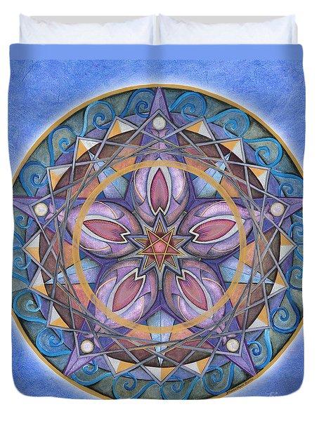 Truth Mandala Duvet Cover