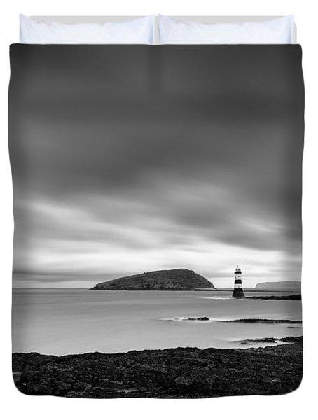 Trwyn Du Lighthouse 1 Duvet Cover
