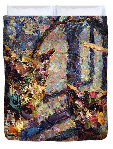 Tryst Duvet Cover by James W Johnson