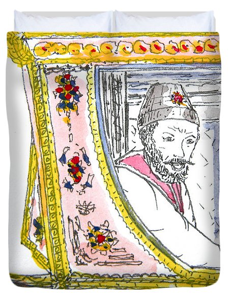 Tsar In Carriage Duvet Cover
