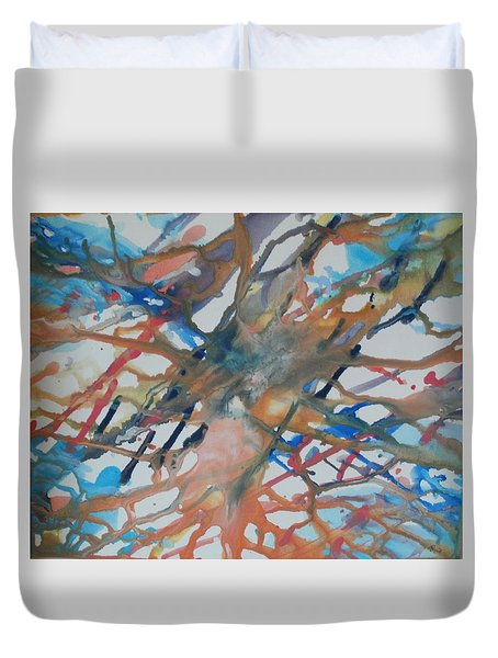 Tube Duvet Cover by Thomasina Durkay