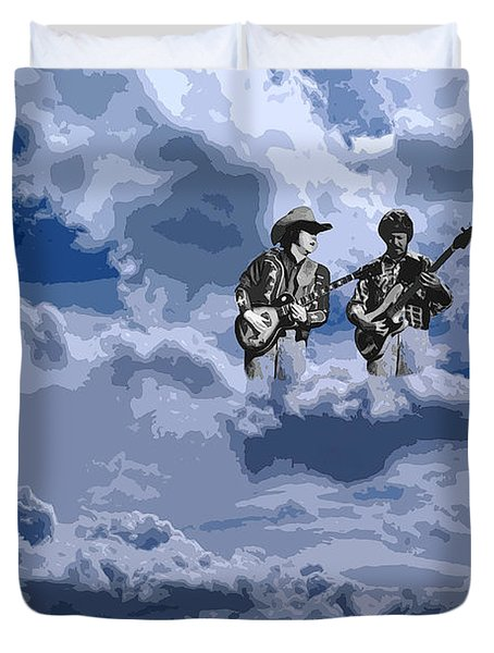 Tucker Boys In The Clouds 2 Duvet Cover