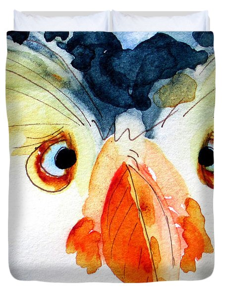 Tufted Puffin Duvet Cover