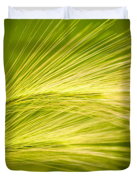 Tufts Of Ornamental Grass Duvet Cover by  Onyonet  Photo Studios