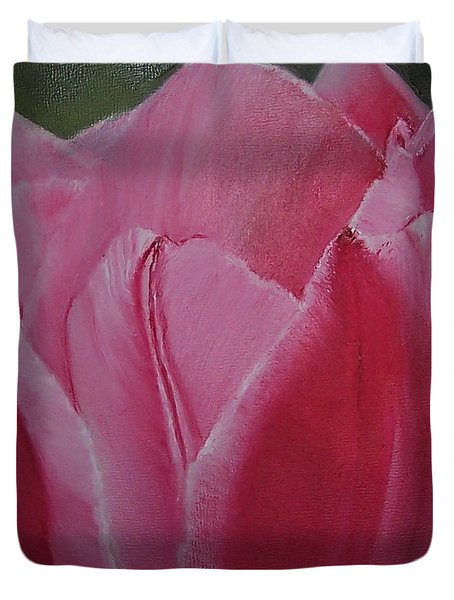 Tulip Blooming Duvet Cover