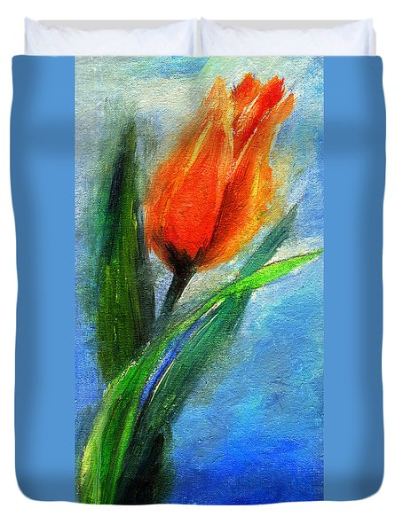 Tulip - Flower For You Duvet Cover