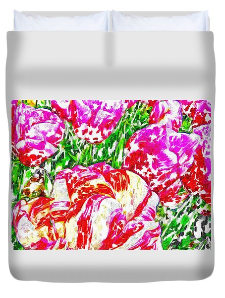 Tulip Infusion Duvet Cover