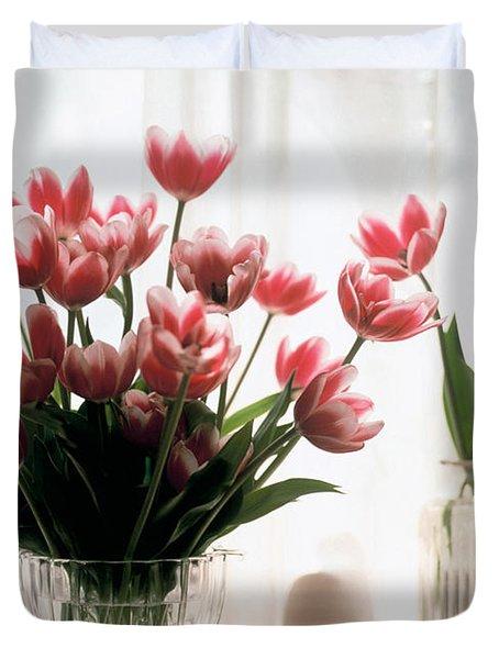 Tulip Duvet Cover by Jeanette Korab