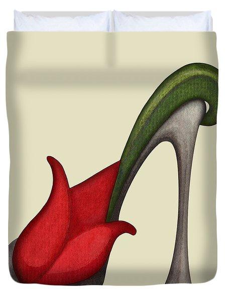 Tulip Mule Duvet Cover