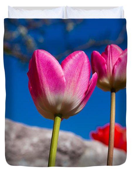 Tulip Revival Duvet Cover