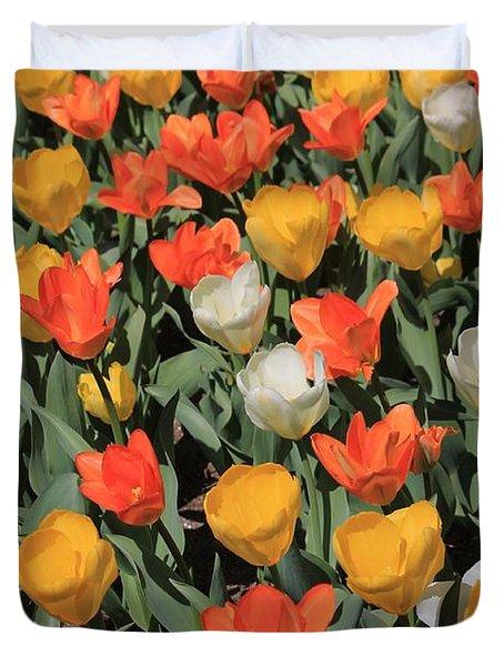 Tulip Stretch Duvet Cover